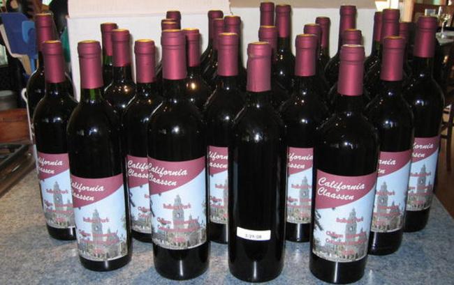 Chilean Carmenere 2008 at bottling6