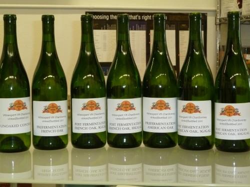 2011 Curds and Wine Chardonnay Oak Trials